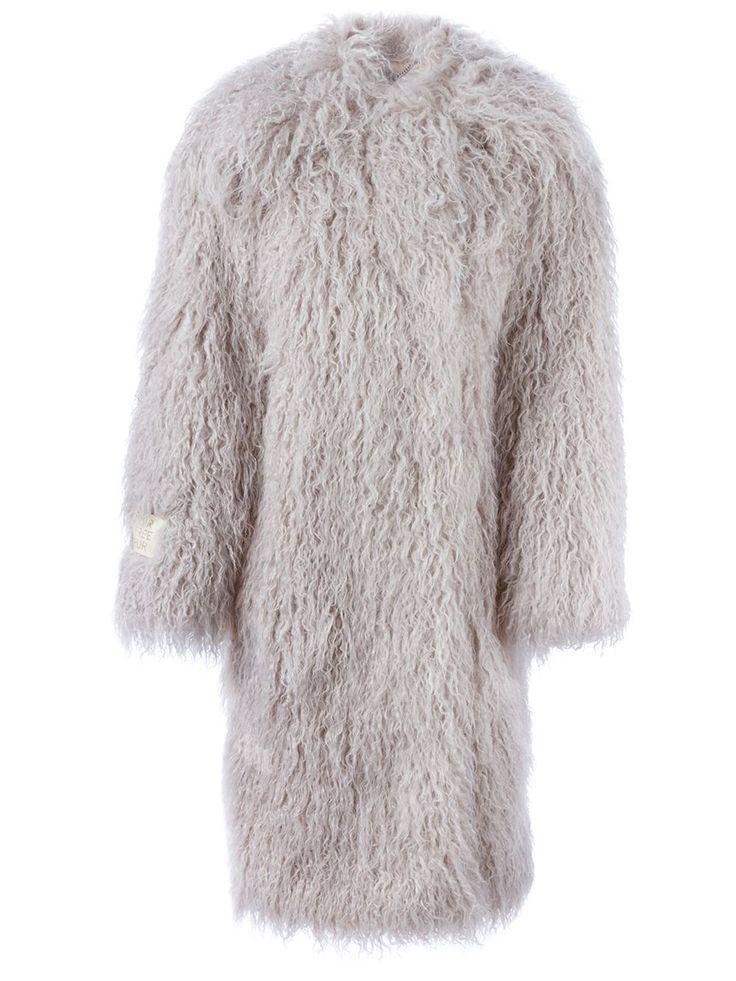 Stella Mccartney Пальто 'fur Free Fur Telma' - Vitkac - Farfetch.com
