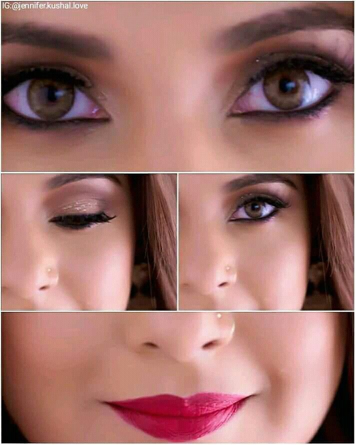 Pin By Aaliya Liya On Jennifer Jennifer Winget Jennifer Winget Beyhadh Eye Makeup