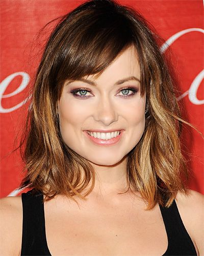 Love #OliviaWilde's long bob? Her hairstylist David Babaii recommends asking for clean edges, and using the points of the eyebrows as a guide for the bangs. http://www.instyle.com/instyle/package/general/photos/0,,20574105_20576503_21130331,00.html