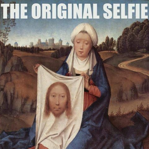 catholic selfie catholic meme I'm presenting tonight for my Lay Dominican chapter and it's all about Community. Questions? Answered! #thirdorder #laydominican #catholic