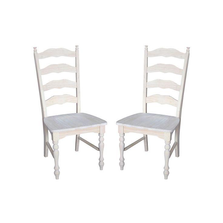 Best 20 Ladder Back Chairs Ideas On Pinterest Ladders
