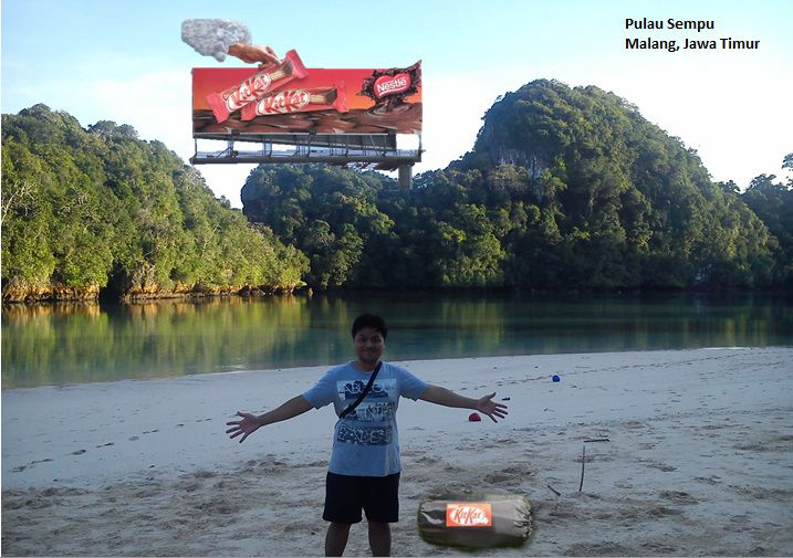 Kit kat journey in Sempu Island Malang - Indonesia