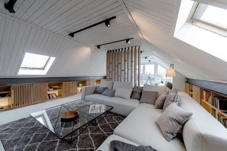 Attic Apartment by Lofting | HomeAdore