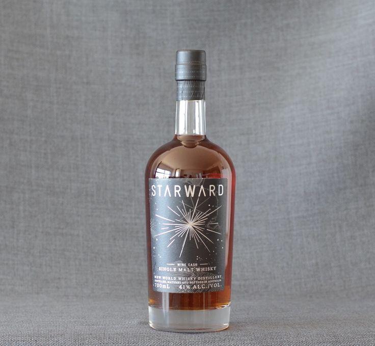 Starward Wine Cask Australian Single Malt Whisky Sweet, Chocolatey, Fruity $85   Click to find!