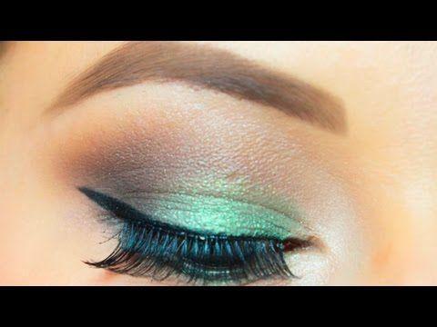 Maquillaje de ojos paso a paso de noche o de día | facilisimo.com - YouTube