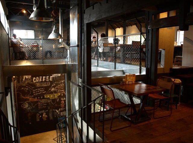 「工場→カフェ / factory → cafe 」D×M(札幌市/北海道)http://living.ikigoto.com/cafe/