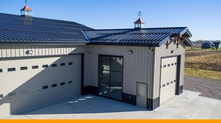 How To Create Your Own Garage Workshop Morton Building Homes Morton Building Steel Building Homes
