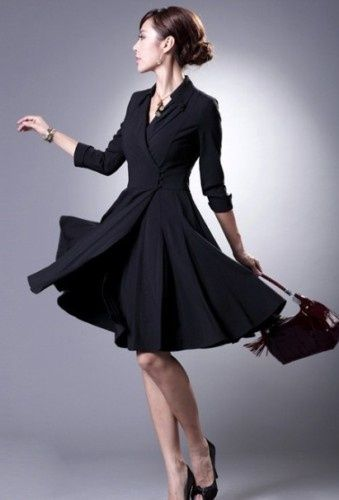 Great business dress...... I want this dress!