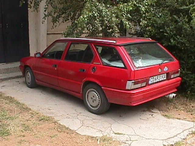 33 SportWagon 1.7; (not my car, but pretty similar)