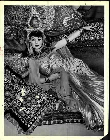 lucille ball as cleopatra