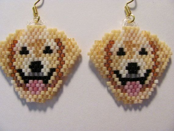 245 Best Dogs Beaded Images On Pinterest Brick Stitch
