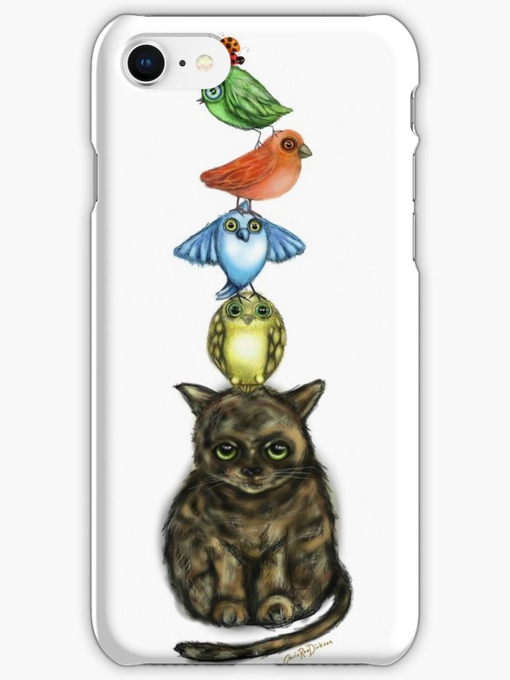 What an adorable iPhone case! OMG