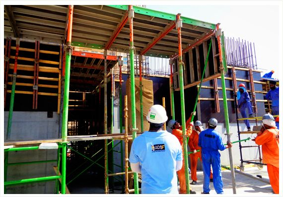 ADSF - A formidable Manufacturer and supplier of formwork & scaffolding rental companies since 2005. Specialized in design and development of Forming, Decking Services and Scaffolding System.