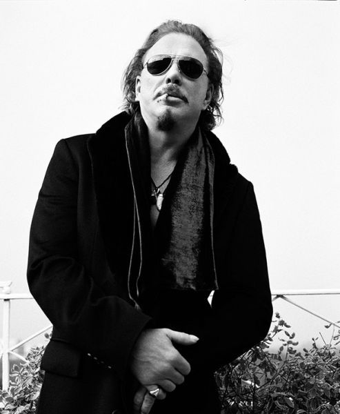 Mickey Rourke by Bryan Adams