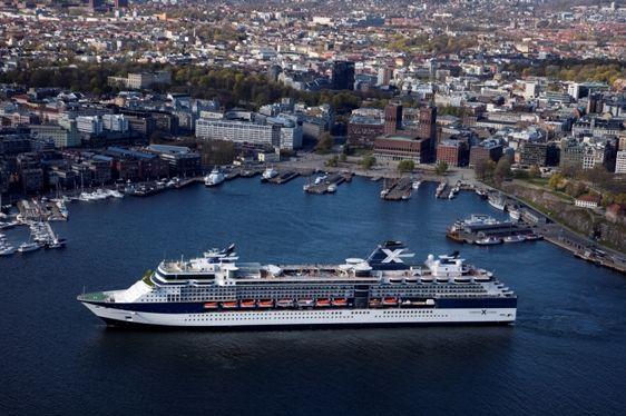 Celebrity Constellation in Oslo