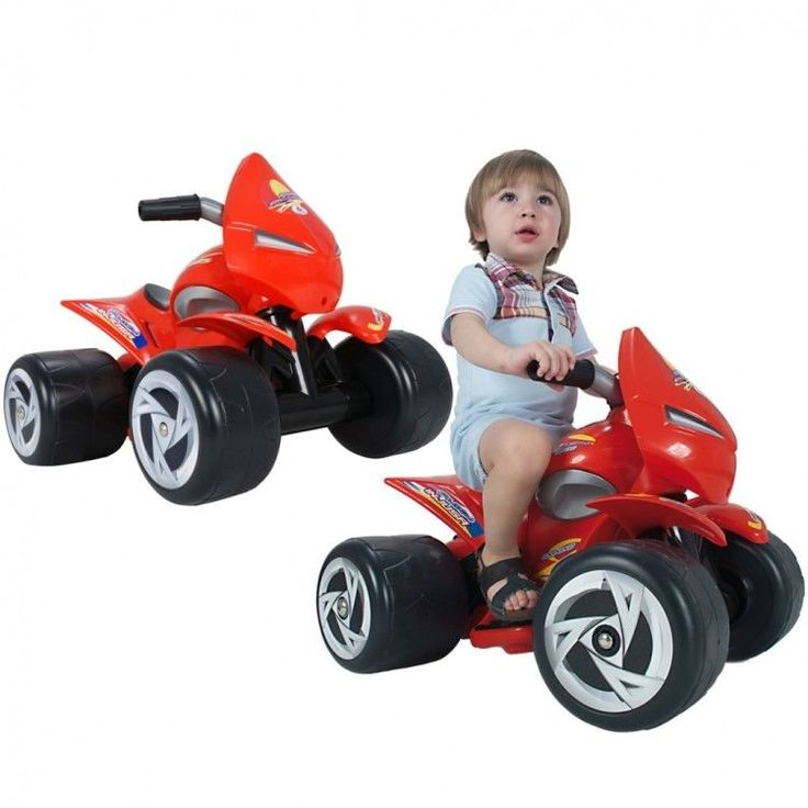 Toddler Ride On Car Vehicle Christmas Xmass Gift Electric Riding Red Quad Bike #ToddlerRideOnCar