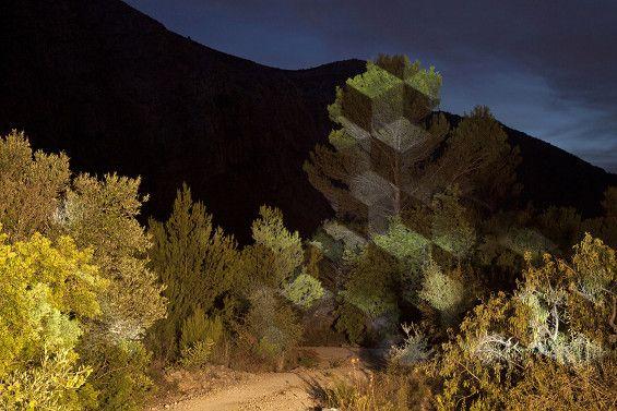 Javier Riera's Outdoor Interventions of Light | Beautiful/Decay Artist & Design
