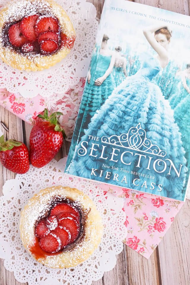 Awesome review and description of The Selection by Kiera Cass incuding details about the main character America and a free printable inspired by the book.
