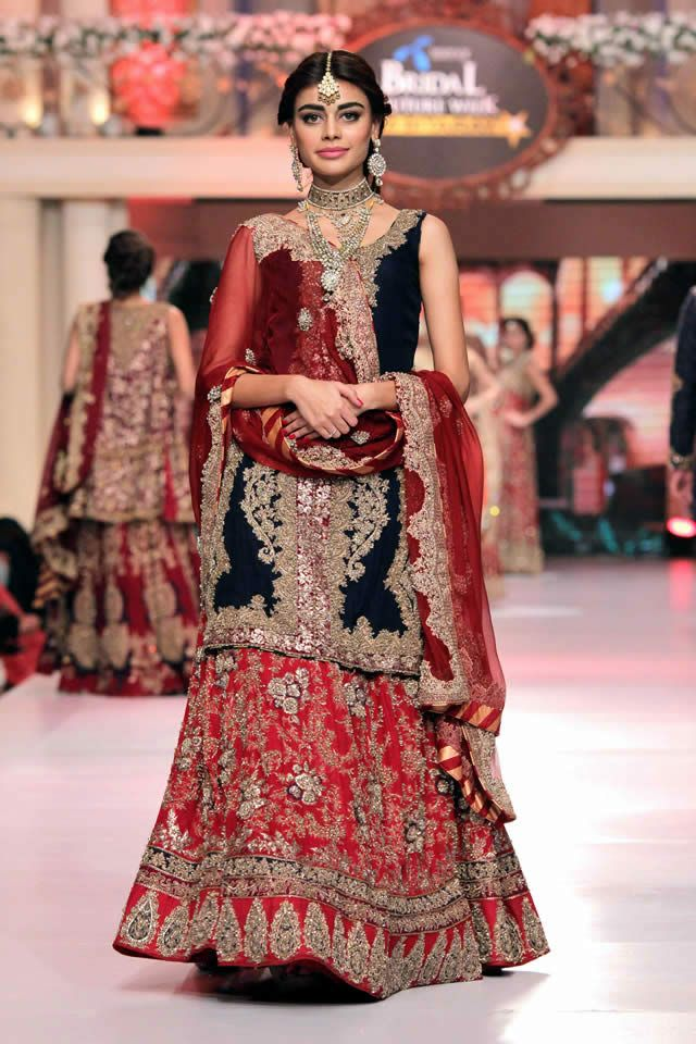 HSY New Couture Collection Telenor Bridal Couture Week 2015