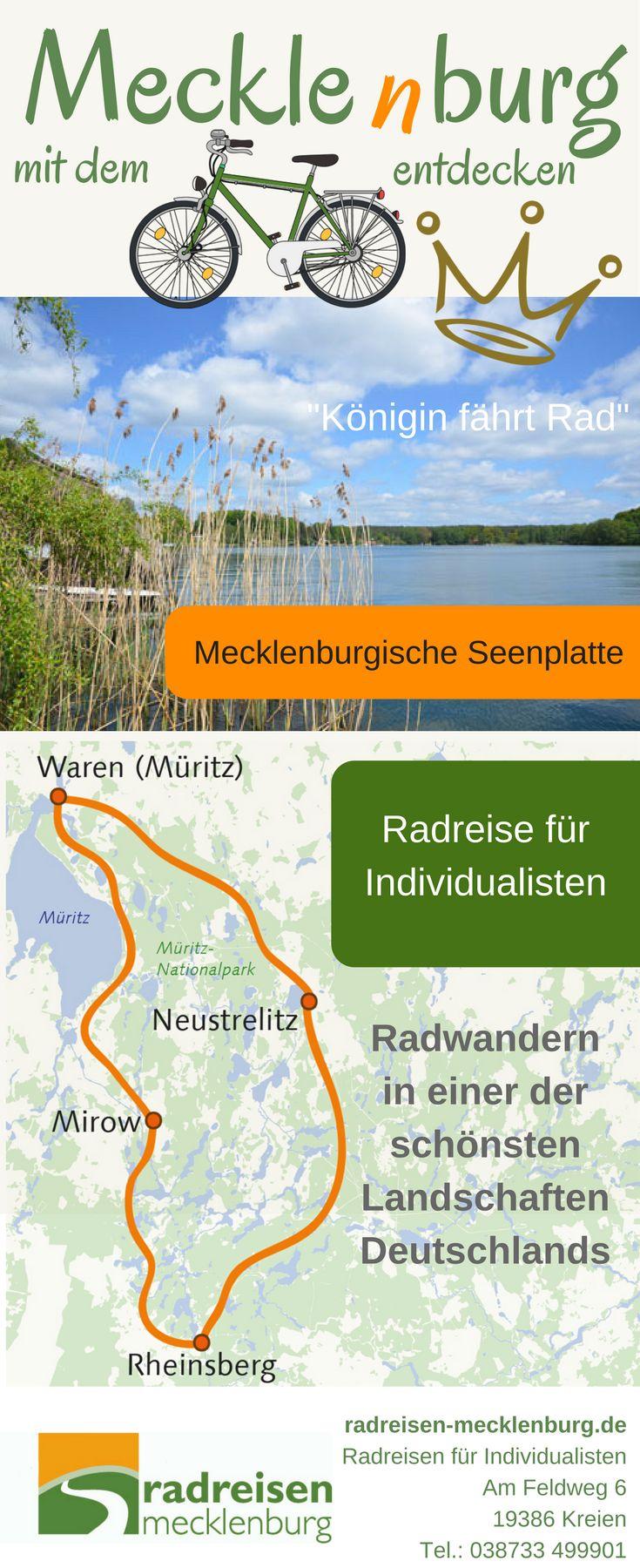 Entdecke Seenlandschaften zwischen Mecklenburg und Brandenburg auf dem Fahrrad So einzigartig große