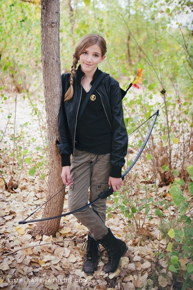 15 Feminist Halloween Costumes for 2015 | Her Campus  Channel your inner fierceness!  But I mean katniss was a really strong , brave character - gotta love her!