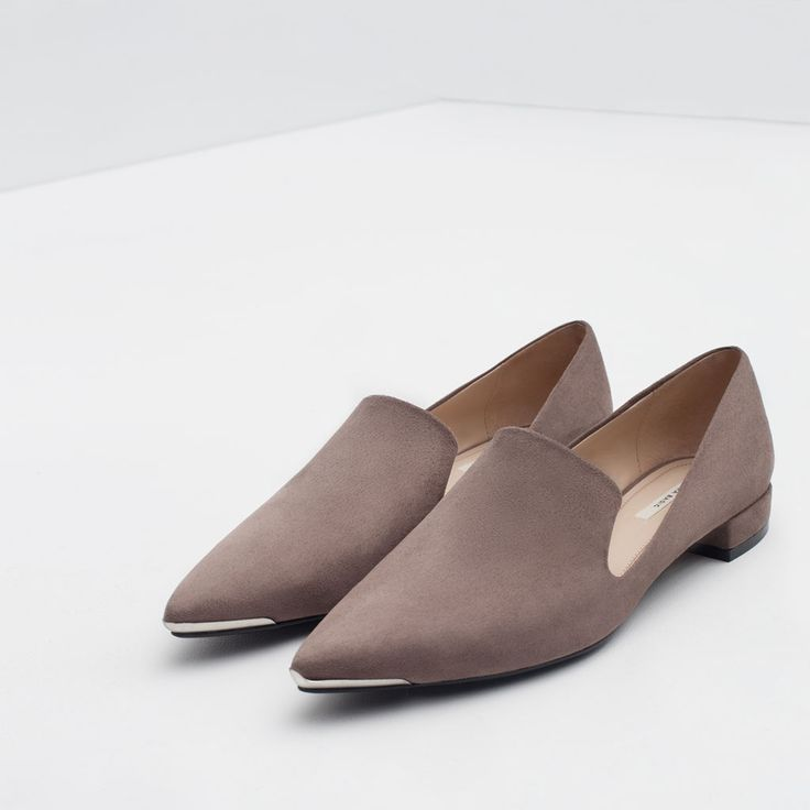 METAL TOE FLATS-View all-Shoes-WOMAN | ZARA United States