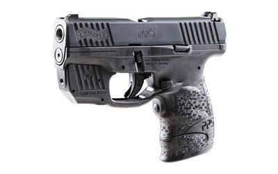 "Epic Firearms | Walther, PS M2, Semi-automatic Pistol, Crimson Trace Laser, Striker Fired, 9MM, 3.2"" Barrel, 1:10 Twist, Polymer Frame, Black Finish, 7Rd, 3 Dot Sights, 2 Magazines"
