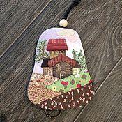 """Handtassen en accessoires.  Fair of Masters - ambachten Portemonnees """"Goed weer"""" Japans patchwork.  Met de hand gemaakt."""