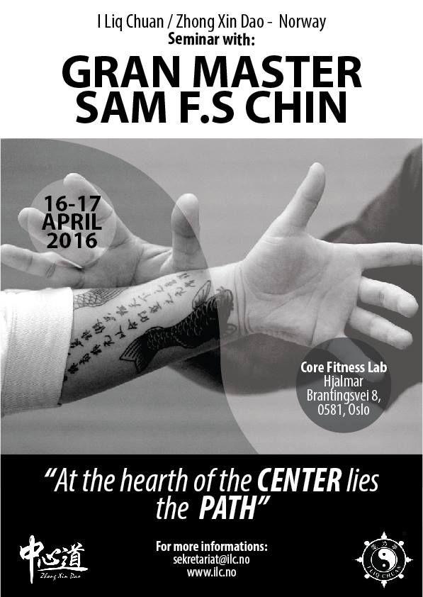 Master Sam Chin seminar 2016