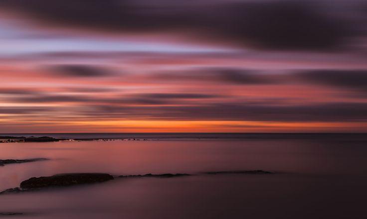 Fast Moving Sunset - Taken during sunset at Brighton Beach Melbourne, Australia
