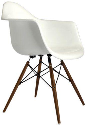 Fine Mod Wood Leg Dining Arm Chair. Dining Arm ChairArm ChairsModern ...