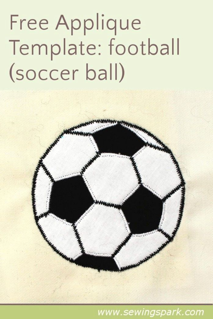Playing Skilled Soccer One Of The Greatest Sports In The World Is Soccer Also Called Football In Numerous Count Soccer Ball Football Quilt Applique Templates