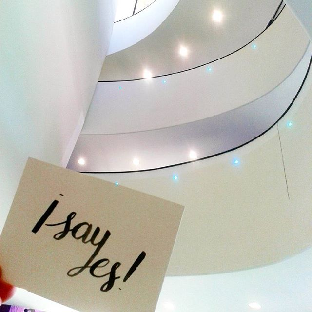 I say yes... to the beautiful Museo del 900 in Milan