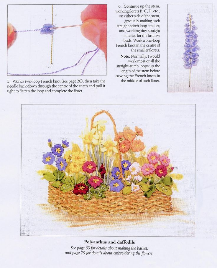 49 Best Silk Ribbon Embroidery Images On Pinterest Embroidery