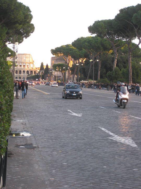 Roma, Italia. Tiina Mäenpää -Bussetta