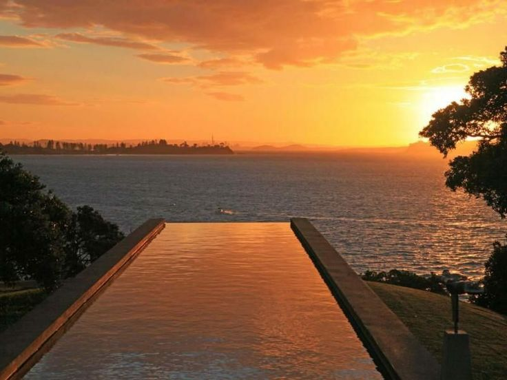 Post Modern Masterpiece | LAP POOL AND SUNSETS