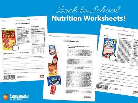 17 Best images about Nutrition - Worksheet on Pinterest | Fruits ...