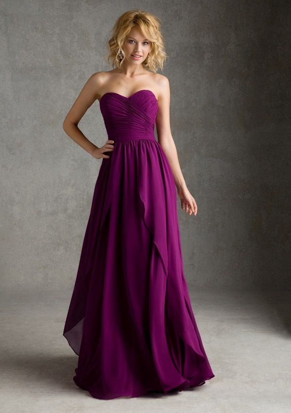 taffeta bridesmaid dress from Angelina Faccenda Bridesmaids by Mori Lee Style 20425 Luxe Chiffon
