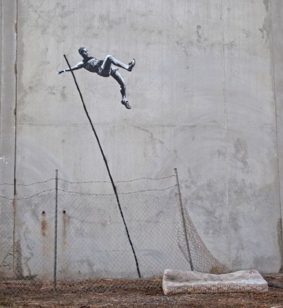 Olympics-themed art by Banksy