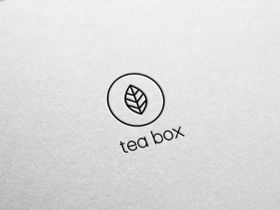 I researched a lot of tea companies and I wanted to re-brand the Tea Box logo, this is one of my final designs.  What are your thoughts?