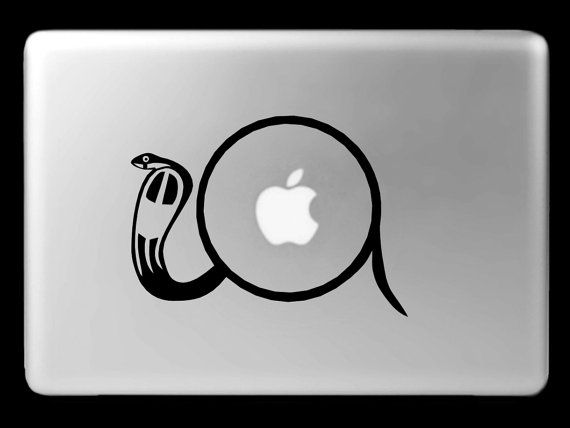 Ra Major Ancient Egyptian Solar Deity Sun God Vinyl Mac Notebook Laptop Decal Snake Symbol Sticker