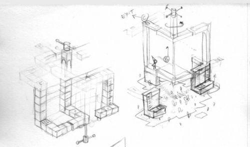 """""""纪念碑谷""""设计师首度公开游戏手稿"""