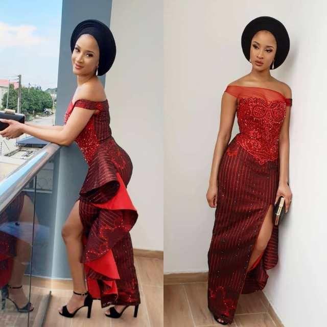 Elegant French Lace Aso Ebi Styles For Wedding Guests 2019 Lace Fashion French Lace Aso Ebi Styles African Fashion