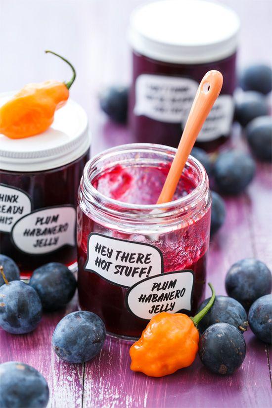 Damson Plum & Habanero Jelly (plus download the FREE printable jar labels!)