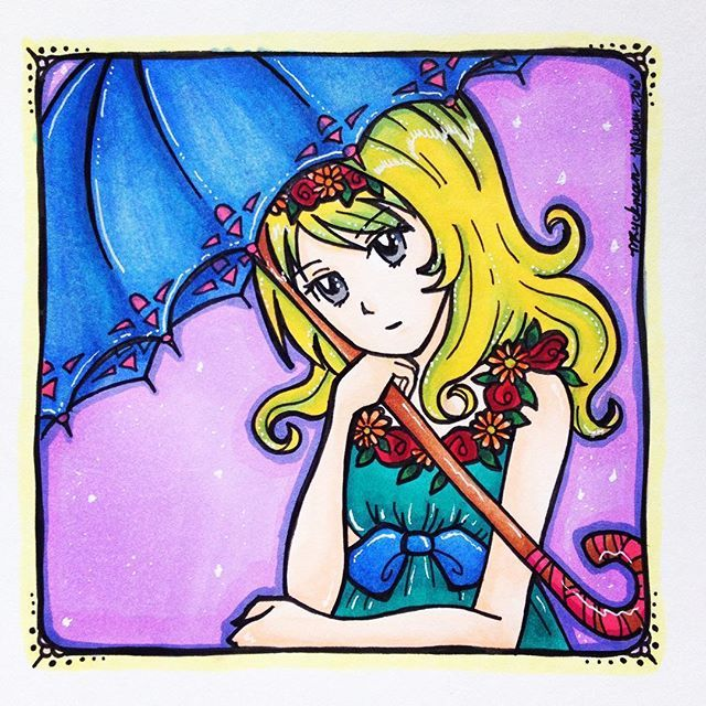 💚2nd place prize drawing for @s.winterzart - we hope you like it!! 💕 Art by: @whimsicalillustration colouring by me!! 😄💚 #animegirls #mangagirl #mangagirls #oc #ocs #originalcharacter #owncharacter #femaleoc #femalecharacter #girloc #girlcharacter #cuteanimegirl #kawaiianimegirl
