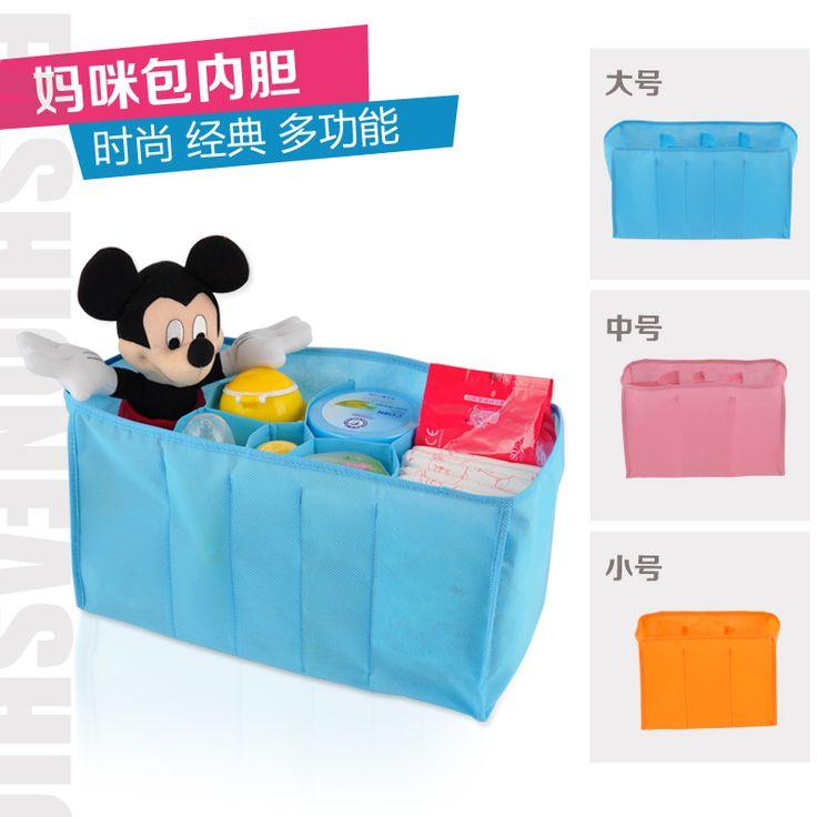 Baby Diaper Bags Inner Storange Mother Bag 3 Sizes Travel Changing Baby Bags Baby Maternity Bags Bolsa maternidad Para Bebe