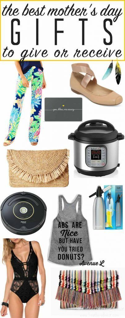 Love this whole list of Mother's Day gift ideas from heatherednest.com...putting this by the hubs bedside table ;)