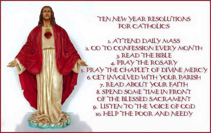 New Year Resolutions For Catholics ❤️