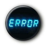 Error Button Ansteckbutton – Petra Dre