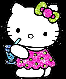 Queen Beez Crafting Buzz: Hello Kitty Profile Art
